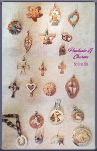 Assorted Pendants & Charms